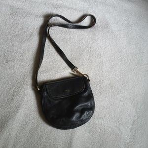 EUC Authentic Black Furla Genuine Leather